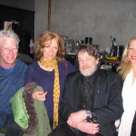 Michael Gosney, Diana Maxwell, John Perry Barlow, Zia Ziprin. Photo Credit: Katherine Armer.