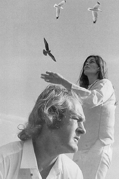 Timothy Leary and Rosemary Leary, 1968