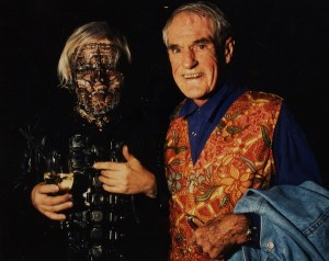H.R. Giger and Dr. Timothy Leary