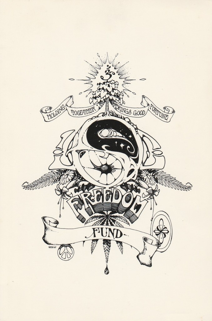 Holding Together logo. Artist: Bill Ogden.