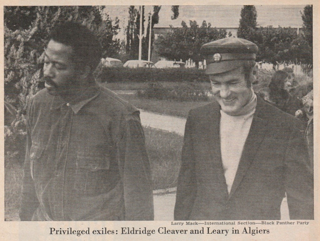 2-a. Cleaver & Leary, Algiers, Nov. 1970