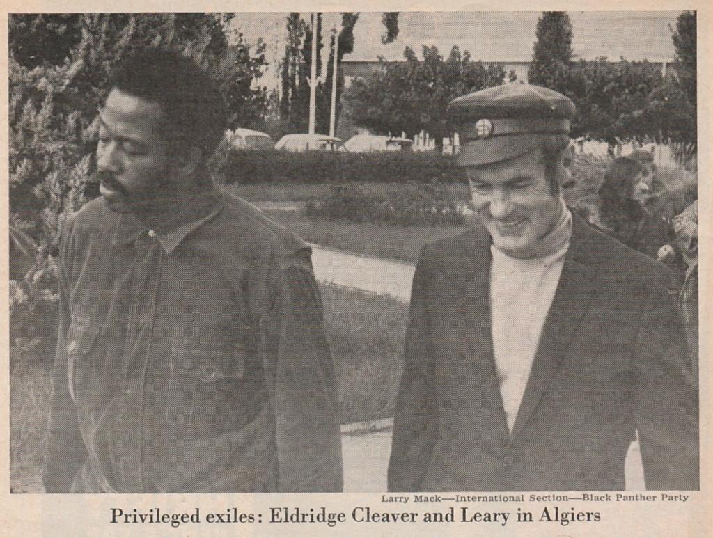 2-a. Cleaver & Leary, Algiers, Nov. 1970